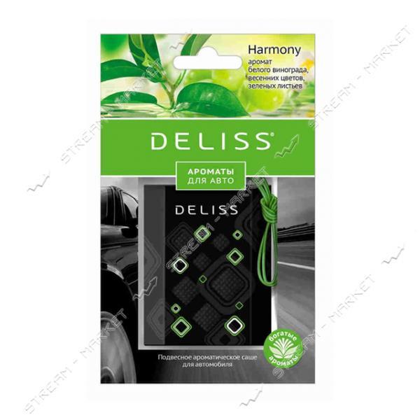 DELISS Ароматизатор подвесной в саше для автомобиля Harmony 7.8мл