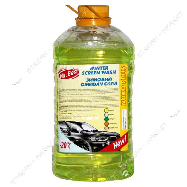 Стеклоомывающая жидкость Mr. BEST - 30 для авто 5л