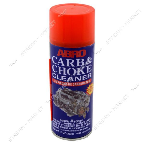 Очиститель карбюратора ABRO CC-200 Carb&Choke аэрозольный, 283г