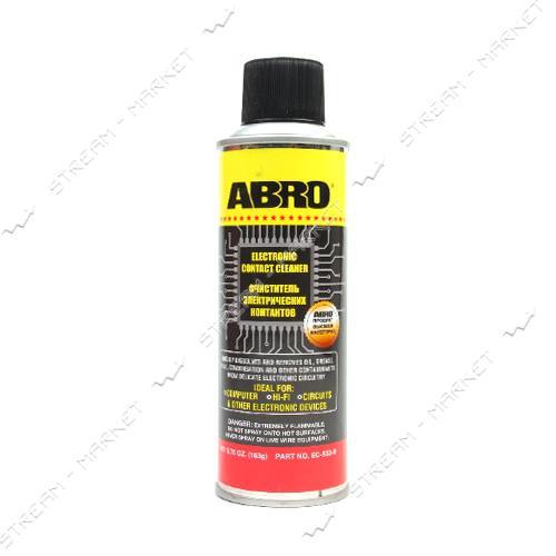 Очиститель электронных контактов ABRO ЕС 533 163гр