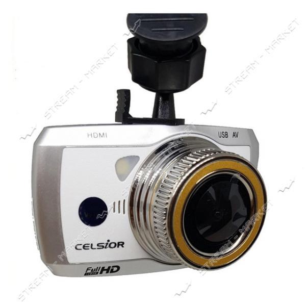 Автомобильный цифровой видеорегистратор CELSIOR DVR CS-219 HD WI-FI белый