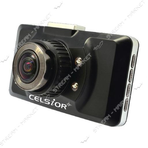 Автомобильный цифровой видеорегистратор CELSIOR DVR CS-705 HD WI-FI черный