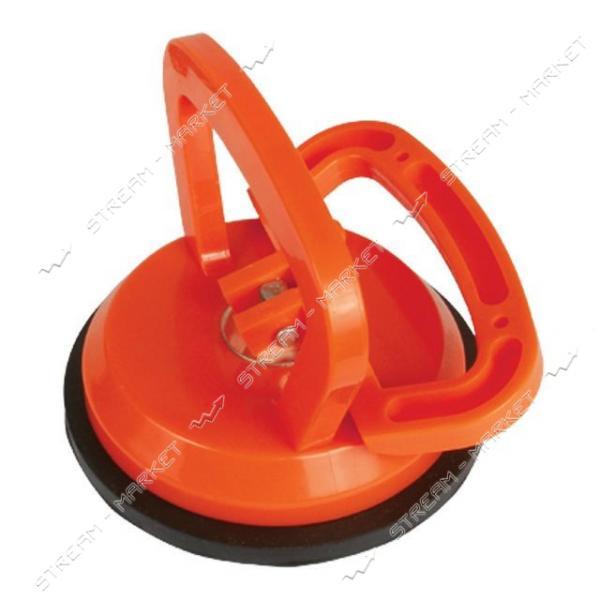 INTERTOOL HT-7101 Держатель-присоска для стекол одинарная 120мм, max 40кг