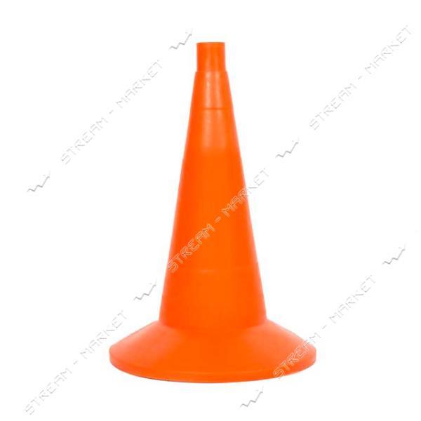 Конус дорожный сигнальный оранжевый 35см