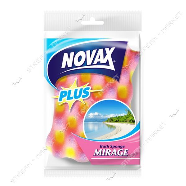 Губка банная Novax Mirage 1шт