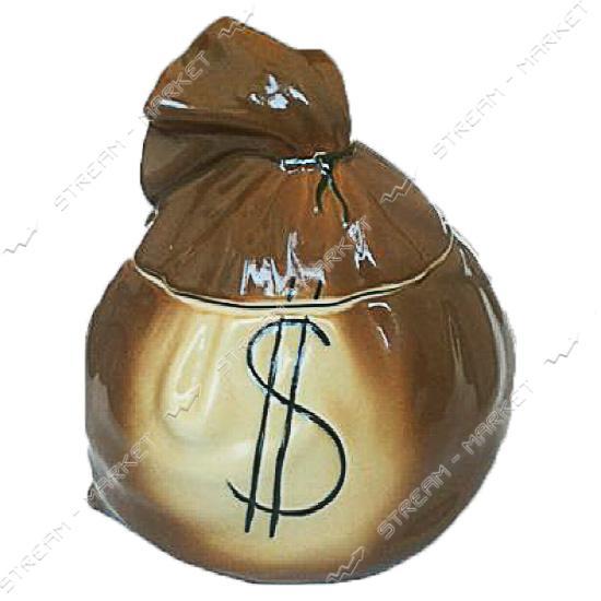 Сахарница керамическая Мешок Долар 0.98 л