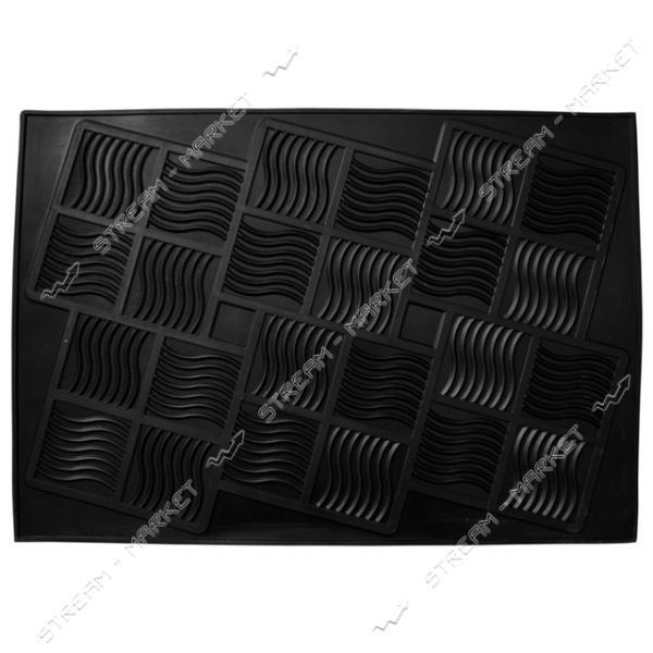 Коврик входной резиновый 5 Элемент 45х65см черный