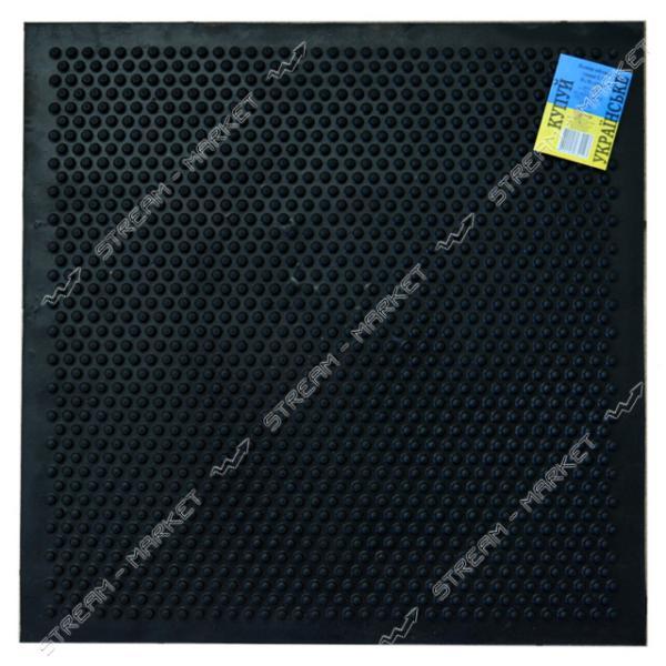 Коврик входной резиновый шип (К-12) 50х50
