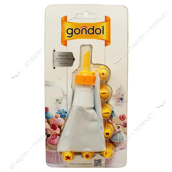 Мешок кондитерский Gondol с насадками