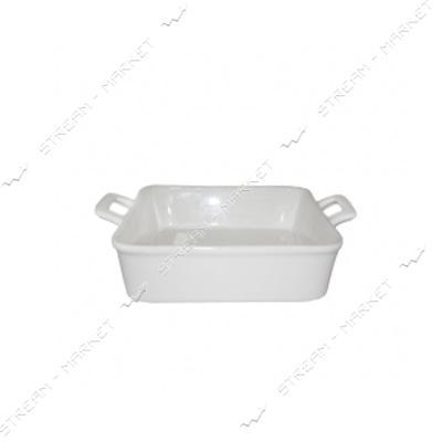 Форма для выпечки SNT 260-31-14 квадратная белая