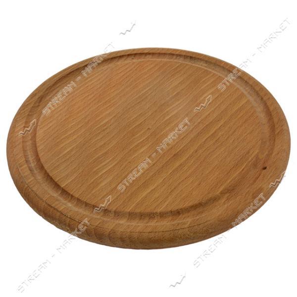 Доска круглая под пиццу d=24см