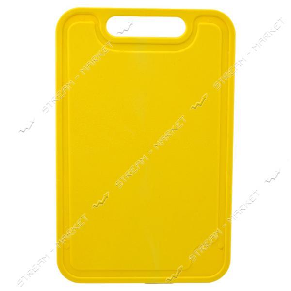Доска разделочная пластиковая цветная 190х290мм