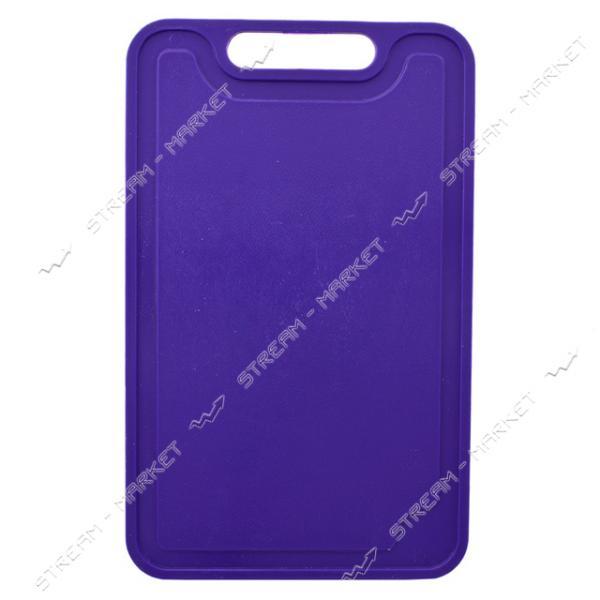 Доска разделочная пластиковая цветная 200х320мм