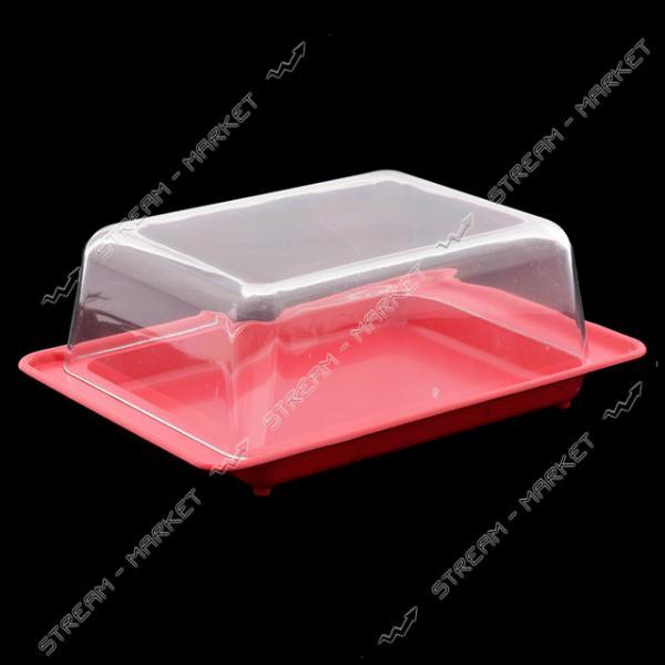 Масленка пластиковая для сливочного масла 'Люкс' Горизонт