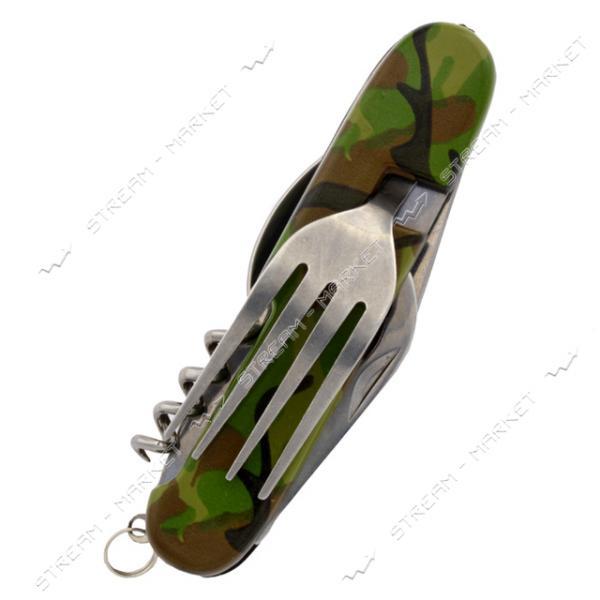 Нож раскладной Солдат 5в1