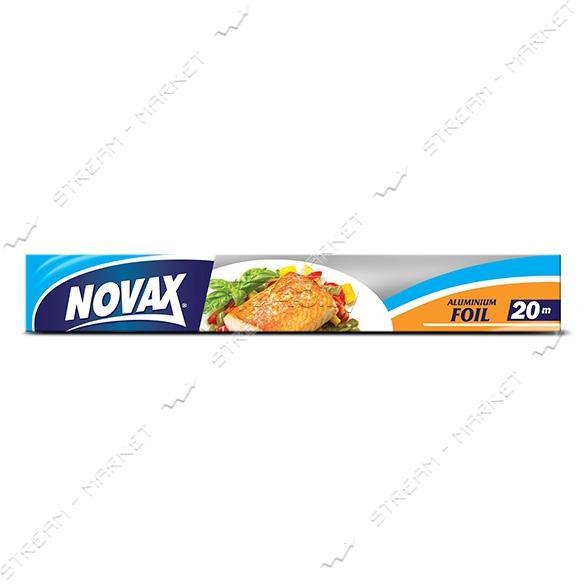 Novax Фольга алюминиевая в коробке 20м
