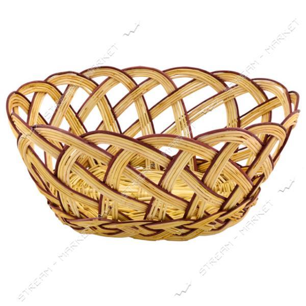 Хлебница плетеная Лоза 28х21.5х13см