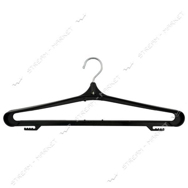 Набор вешалок для одежды пластик с металлическим крючком 10 шт
