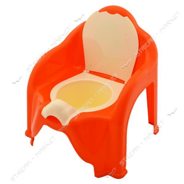 Горшок детский кресло со съемным контейнером цвета в ассорт.