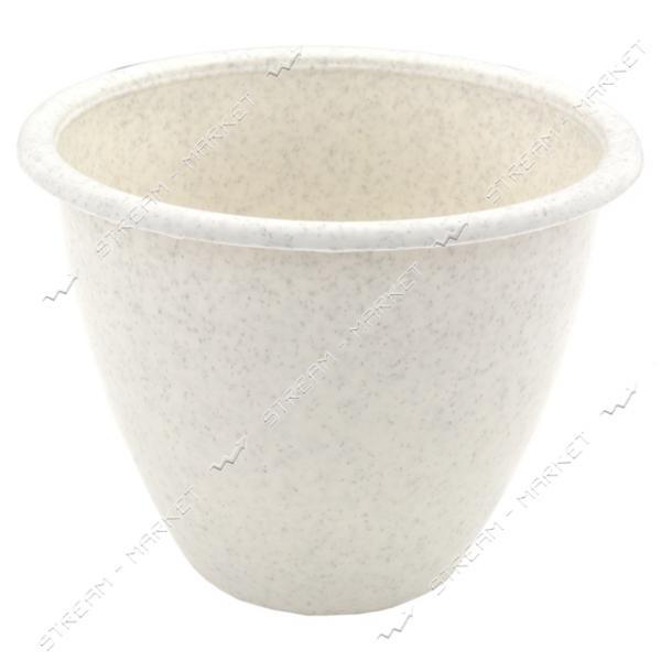 Горшок для цветов мрамор'Астра' 1, 3 л