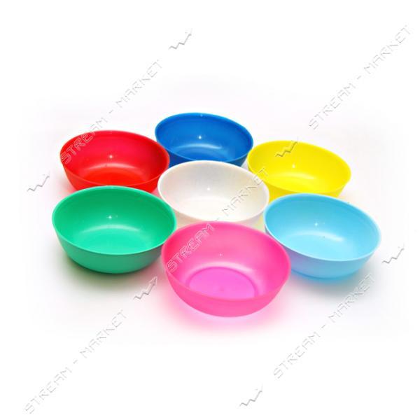 Миска для пищевых продуктов Пиалка 0.3л цветав ассорт.