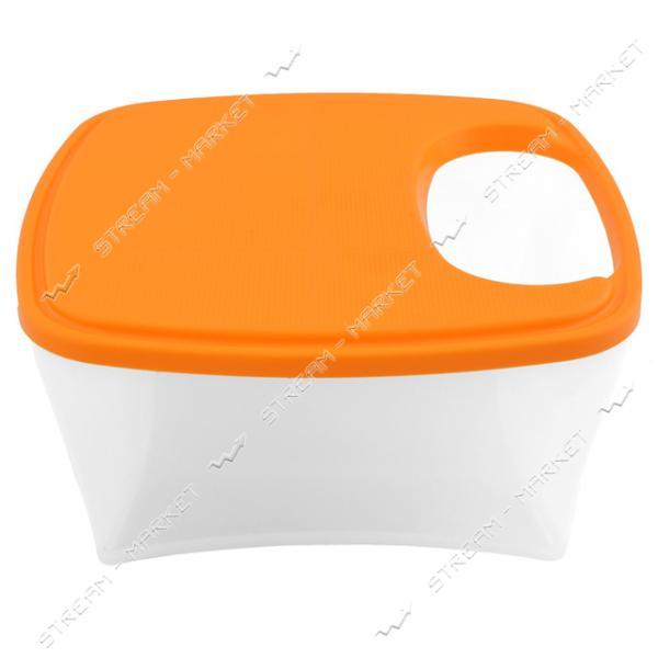 Салатник с доской для нарезки 3.5л