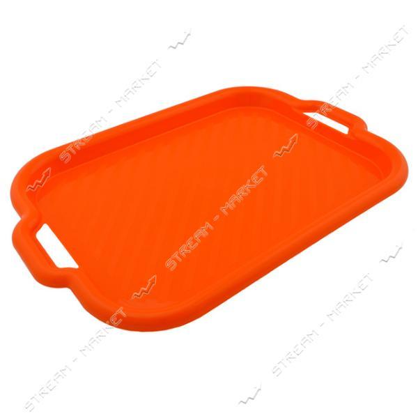 Поднос пластиковый Maxi Plast 52х37х4см