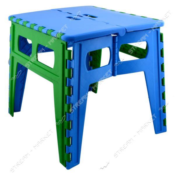 Стол пластиковый складной 450х500х470мм цвета в ассортименте