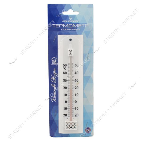 Термометр комнатный П-2 белый 200х50мм