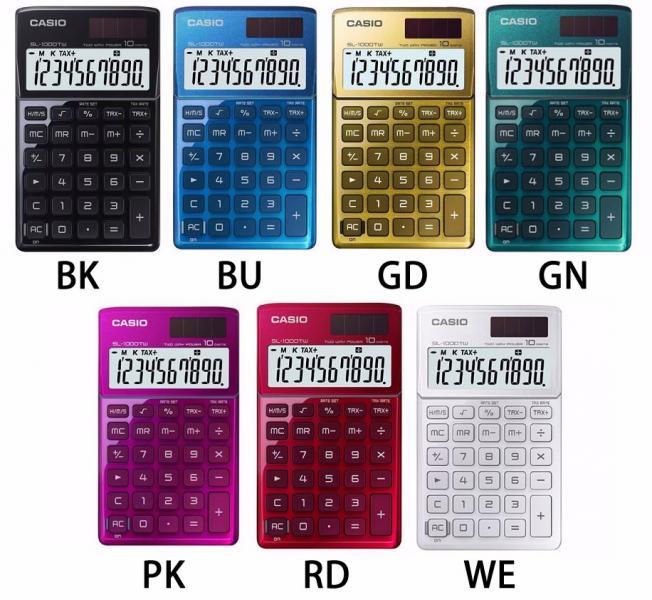 Калькулятор настольный 12р. Casio GR-12 цвета ассорти, см. подробнее