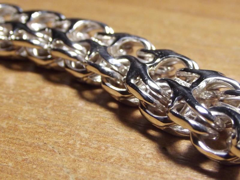Фото Браслеты Серебряный браслет  двойной ручеёк