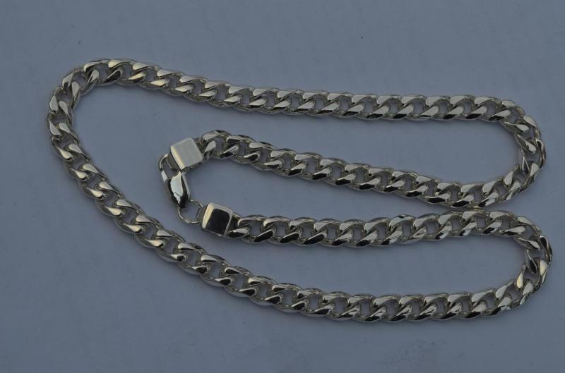 Фото Цепочки Серебряная цепочка панцирное плетение