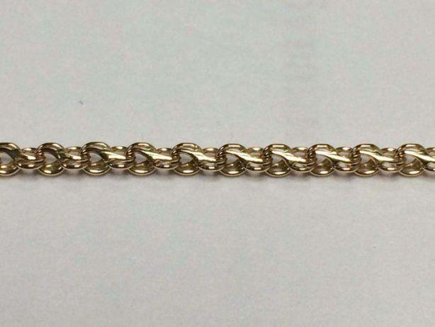 Фото Цепочки Золотая цепочка плетение ручеёк