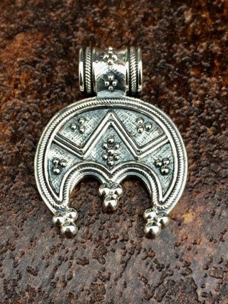 Серебряный кулон Лунница серебро 925