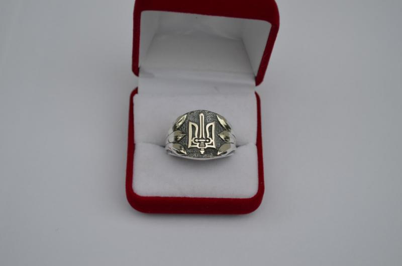 Фото Кольца Серебряное кольцо Тризуб