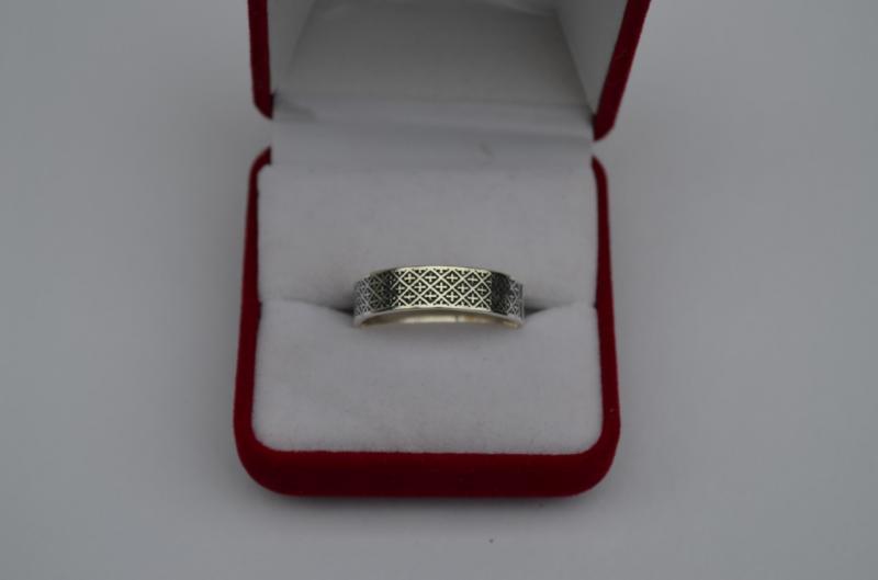 Серебряное кольцо Геральдика