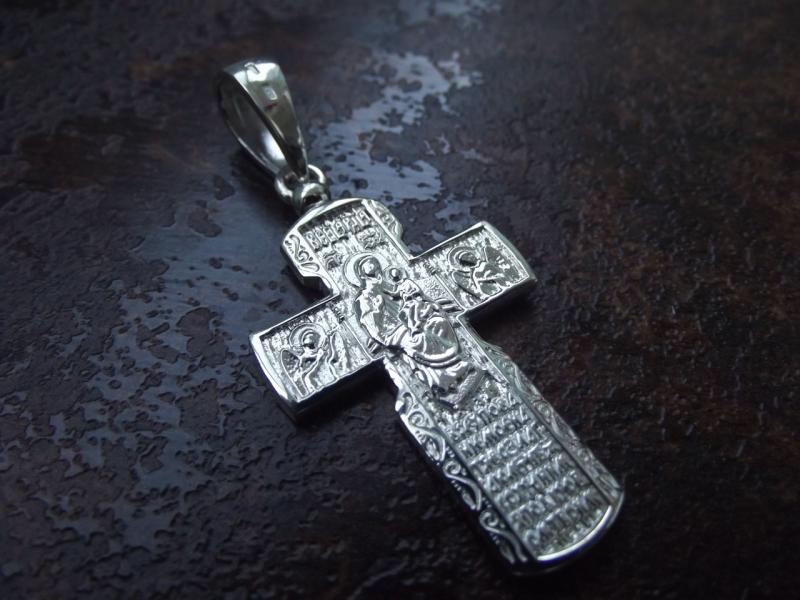 Фото Кресты Серебряный нательный крест