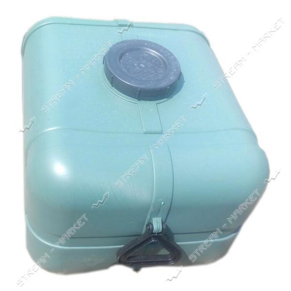 Бак непищевой Консенсус овальный пластиковый 100 л цвет хаки