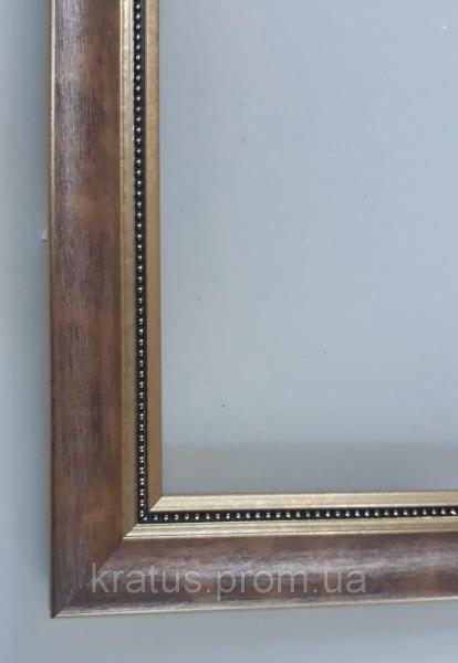 """Багеты (рамки) """"Коричневый 2"""" для картин  размером 40х50см"""