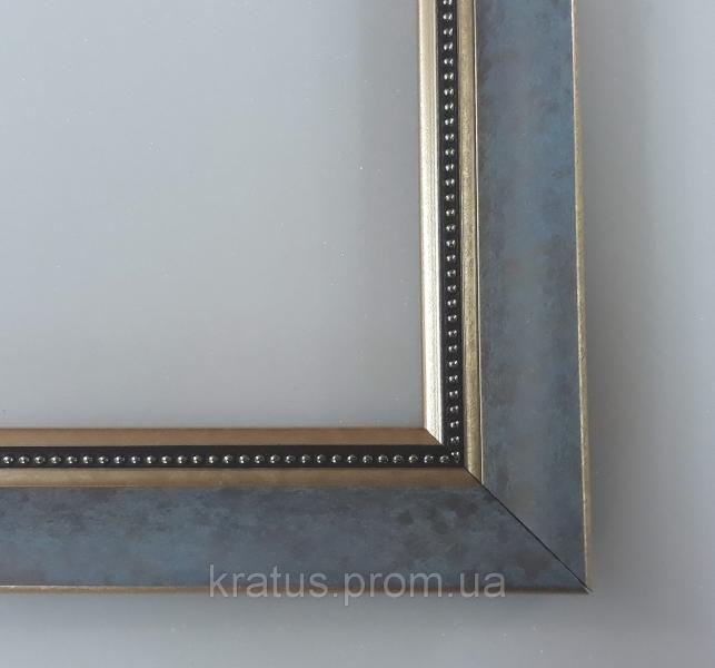 """Багеты (рамки) """"Синий 1"""" для картин  размером 40х50см"""