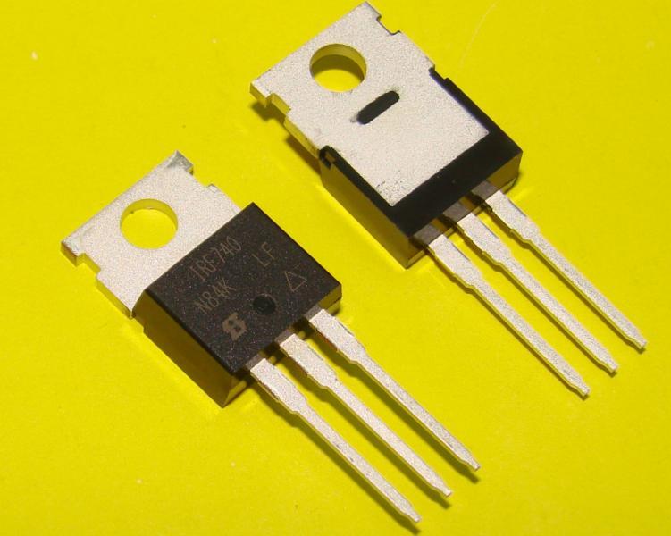 Транзистор полевой IRF740 оригинал