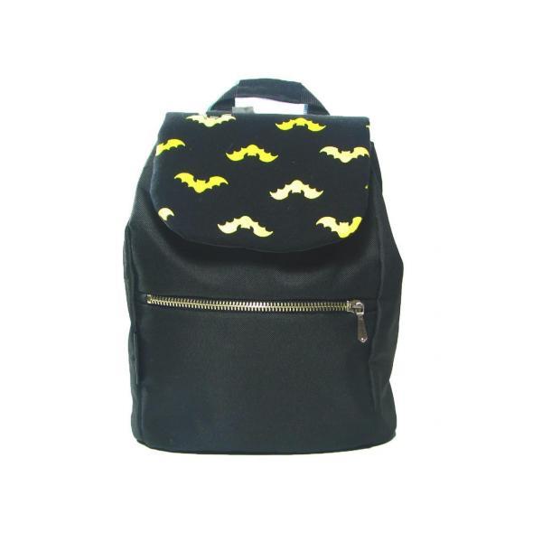 Детский черный рюкзак с Бэтменом