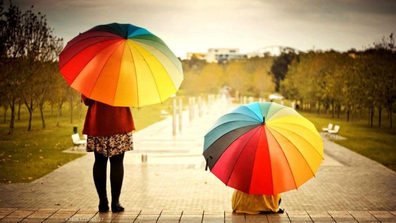 женские зонты фото