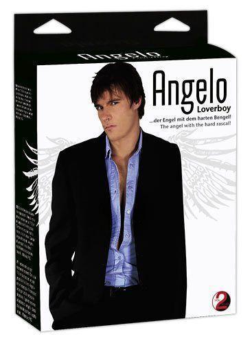 Кукла-мужчина Angelo Loverboy Мужская Blow Up Doll