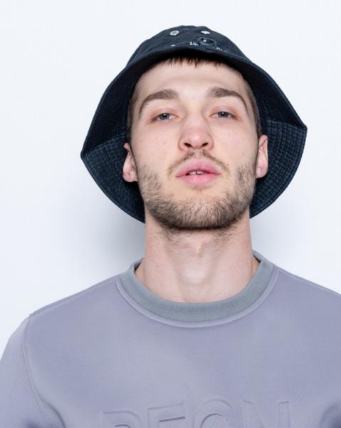 Мужские шляпы ISSA PLUS KP1-06  Universal черный