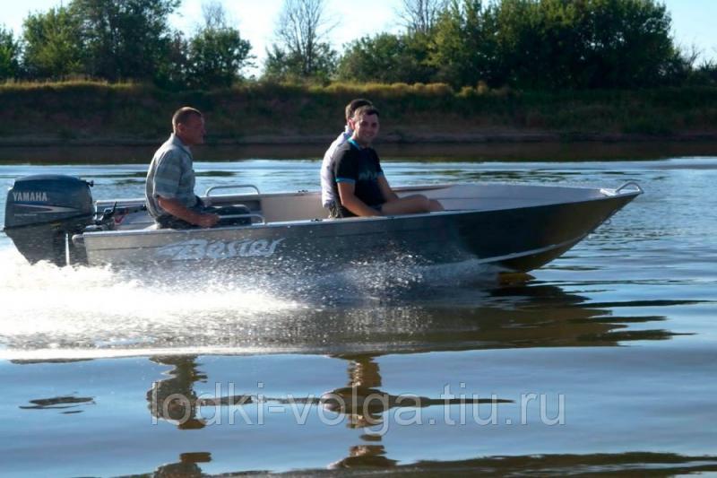 """Моторно-гребная алюминиевая лодка """"Бестер 390"""""""