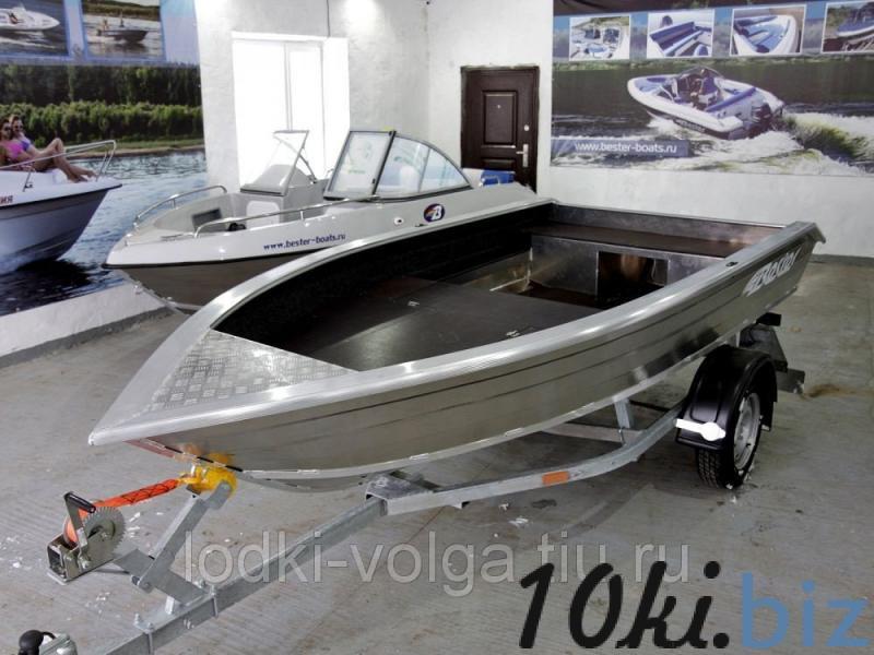 Моторно-гребная алюминиевая лодка Bester-390 fish Металлические лодки в России