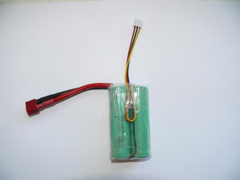 Аккумулятор 7.4V 2500mAh, 2S, для машинок WlToys, JJRC, катеров.