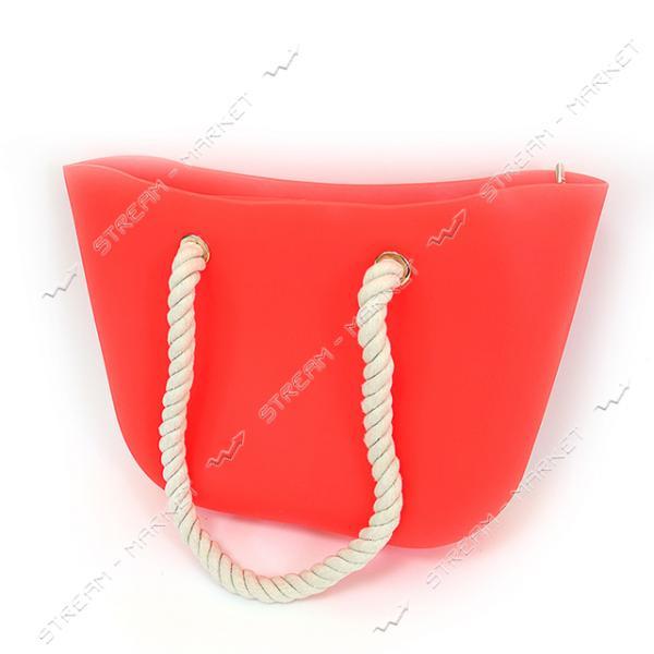 Сумка пляжная Simple 44х11х29 см материал пластик
