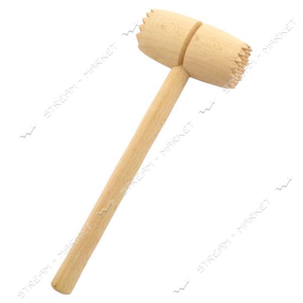 Молоток для мяса деревянный длина 28см